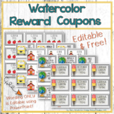 Reward Coupons Editable