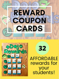 Reward Coupons for Individuals (Includes FREE Whole Class Reward)