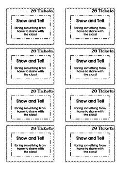 Reward Coupons for Positive Reinforcement & Behavior Management - Redeem Tickets