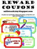 Reward Coupons for Positive Reinforcement