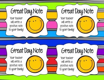 Reward Coupons for Your Classroom