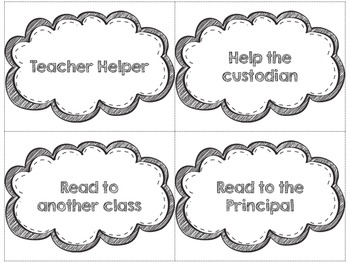 Reward Coupons for the Classroom