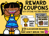 Reward Coupons (Includes Optional Mystery Rewards with QR Codes)
