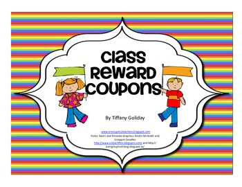 Reward Coupons/Tickets