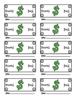 Reward Dollars for Classroom