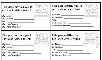 Reward  Eat Lunch with a Friend