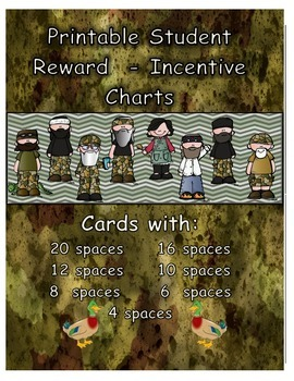 Reward - Incentive Charts - Duck Dynasty