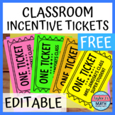 Reward Incentive Tickets - FREE!