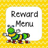 {FREE} Reward Menu for Behavior Charts