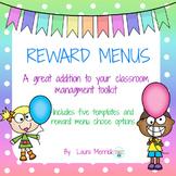 Reward Menus
