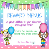 Reward Menus