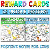 Reward Note Cards BUNDLE