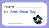 Disney Reward Cards