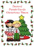 Reward Punch Cards Christmas