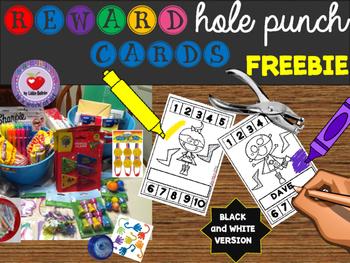 Reward Punch Cards- Freebie