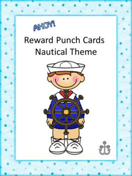Reward Punch Cards Nautical