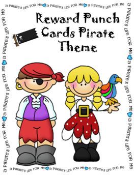 Reward Punch Cards Pirates 2