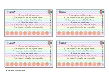 Reward Punch Cards / Prize Box Punch Card