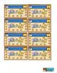 Reward Punch Cards Safari Jungle Zoo Theme
