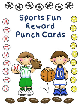 Reward Punch Cards Sports
