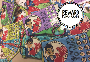 Reward Punch Cards - Various Designs