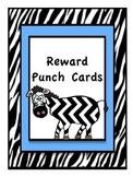 Reward Punch Cards: Zebra