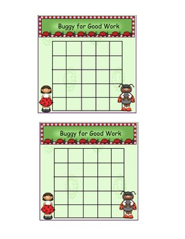 Reward Punch Cards and Incentive Charts Bundle