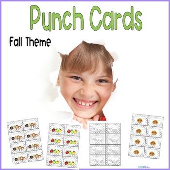 Reward Punchcards