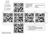 Reward QR Code Cube