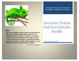 Reward Scratcher Tickets-Not editable