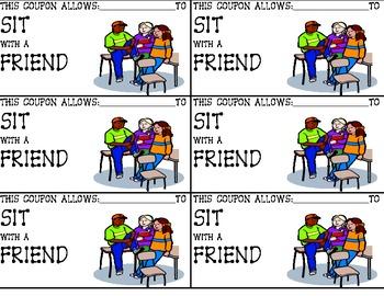 Reward- Sit with a Friend