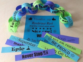 Reward Slips for Motivational Paper Chain