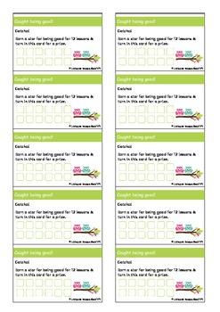 Reward Stamp/Punch cards
