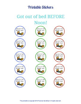 Reward Stickers -Set of 2