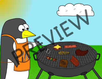 Reward System - BBQ Penguin (VIPKID & Online Teaching)