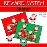 Reward System CHRISTMAS SANTAS Whole Class Single Student VIPKid
