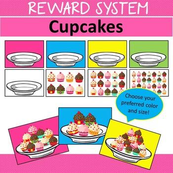 Reward System Cupcakes Whole Class Single Student VIPKid Incentives