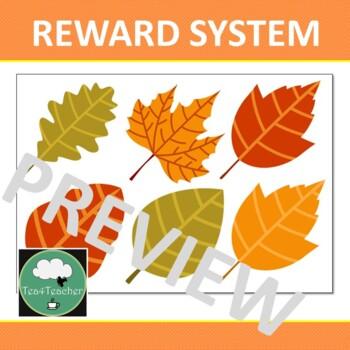 Reward System Fall Leaves Whole Class Single Student VIPKid Rewards Incentives