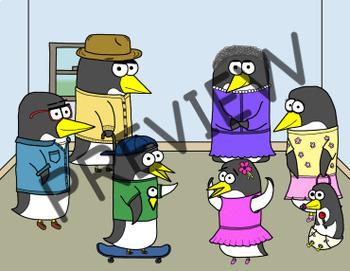 VIPKID / gogokid Reward System - Penguin Family
