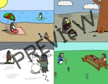 Reward System - Penguin Seasons (VIPKID & Online Teaching)