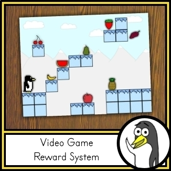 VIPKID Reward System - Penguin Video Game