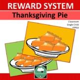 Reward System THANKSGIVING PIES Whole Class Single Student VIPKid