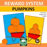 Reward System THANKSGIVING PUMPKINS Class Incentives Token Board