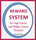 Reward System for High School and Middle School Students