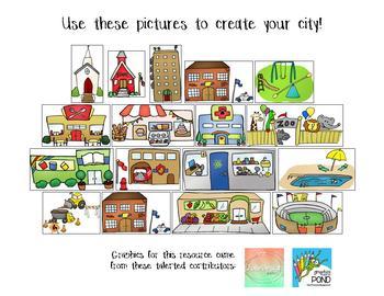 Reward Systems for Online Teaching (VIPKID) Neigborhood / City Theme