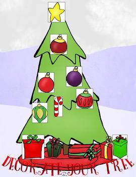 Reward Systems for Online Teaching (VIPKID) Christmas Tree Theme