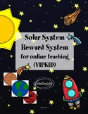 Reward Systems for Online Teaching (VIPKID) Space / Solar System Theme