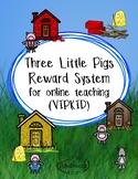 Reward Systems for Online Teaching (VIPKID) Three Little P