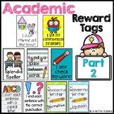 Reward Tags for Academics (Part 2)