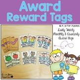 Reward Tags for Awards